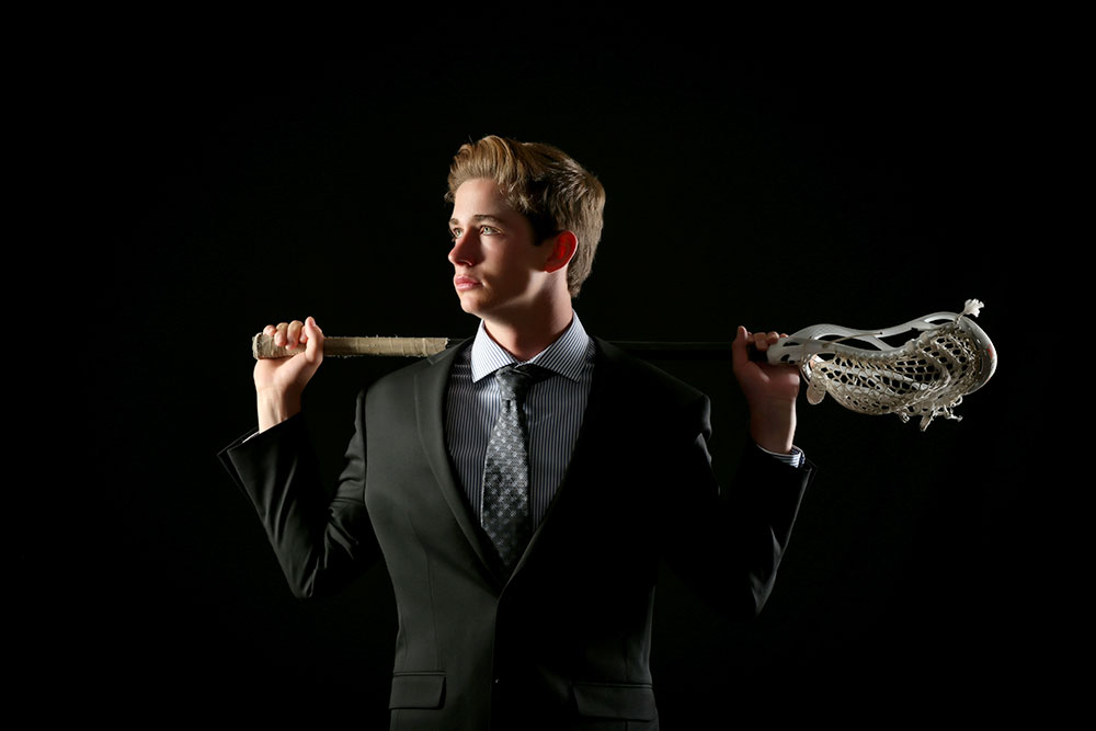 sports hobby senior picture